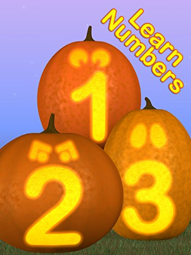 Learn Numbers with Funny and Spooky Pumpkins (Spooky Kids Halloween Movies)