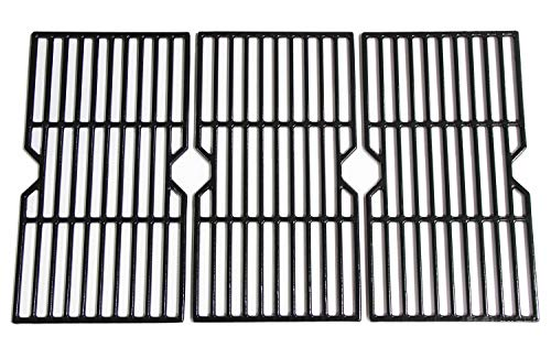 Hongso PCH763 Porcelain Coated Cast Iron Cooking Grid Replacement for Select Gas...
