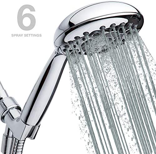 High Pressure Handheld Shower Head 6 Setting product image