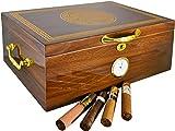 Premium Large 100-150 Cigars La Cubana Cigar Humidor Exclusive...