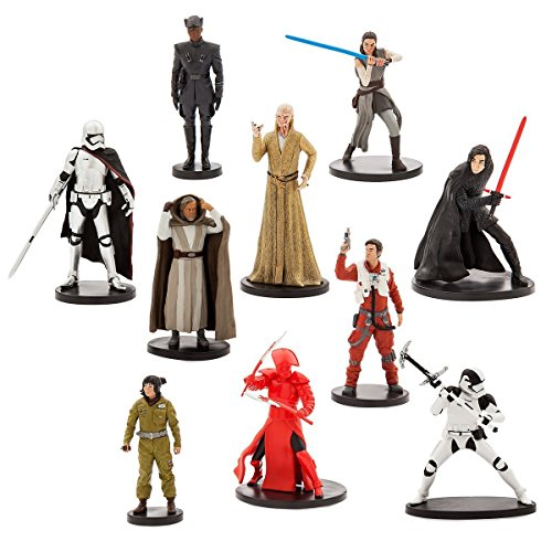 NEW Authentic Disney Store Chewbacca Figurine #2 Cake Topper Star Wars Last Jedi