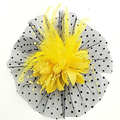 ABC-Sombreros y gorras Boinas : Pluma Fascinators/Flores ...