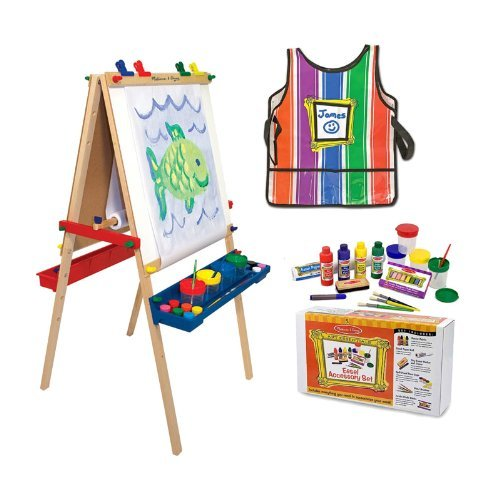 - Melissa & Doug MD93096 Easel & Paint Accessory Kit