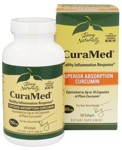 EuroPharma - Terry Naturellement Curamed avec BCM-95 750 mg. - 120 Softgels
