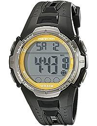 Marathon by Timex Men's T5K803 Digital Full-Size Black/Yellow Resin Strap Watch