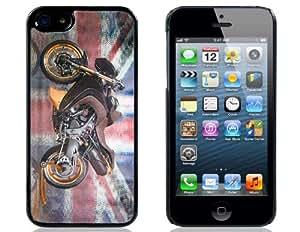3D Motorbike Case Imprimir plástico para el iPhone 5S / 5