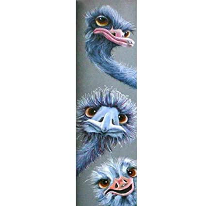 Home Decor three Ostrich 5D Diamond Painting Full Drill DIY Embroidery