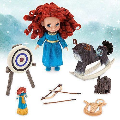 And Brave Arrow Costume Bow (Disney Animators' Collection Merida Mini Doll Play Set - 5)