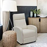 JUMMICO Fabric Recliner Chair Adjustable Home