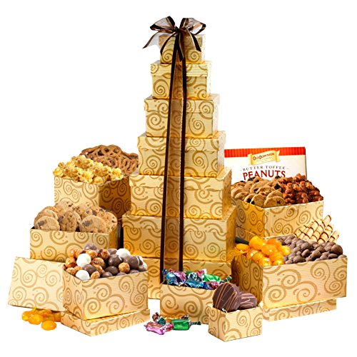 Broadway Basketeers Festive Gift Tower product image