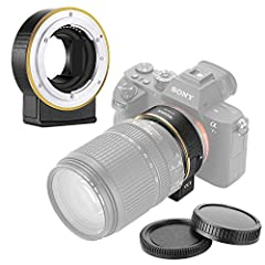 Note:        1.Before using this adapter, make sure the adapter is compatible with the camera.        2.Continuous autofocus (AF-C)function is not available in video mode.        Compatible Cameras:        Sony A9/A7R3/A7R2/A7M3/A7M2/A...