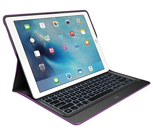 Logitech Create Backlit Keyboard Case with Smart Connector for iPad Pro 12.9 920-007894-Iris/Black by Logitech