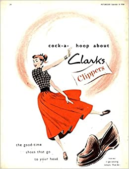 Clarks co uk Yakima 1950 shoes Clippers Advert 11x9 Amazon 808wqRE