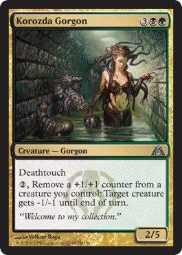Magic: the Gathering - Korozda Gorgon - Dragon's Maze - Foil