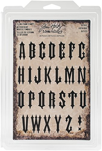 (Tim Holtz TH93618 Idea-Ology Halloween Gothic Foam Stamps)