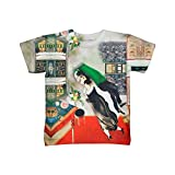 "Marc Chagall - ""The Birthday"". Kids version of our popular adult favorite. Makes a great unique gift. This t-shirt is great for school or a night out with the family. Its super easy to care for, durable and comfortable. Each print is done one at a ti..."