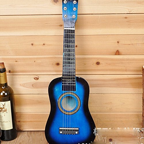 E Support™ New 23'' Beginners Musical Instrument Practice Acoustic Guitar 6 String Children Kids Music Toy Gift