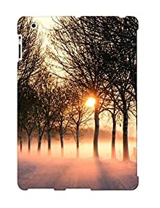 New HRi152JBYvA Sunset Behind The Winter Forest Tpu Cover Case For Ipad 2/3/4 - Best Gift Choice For Christmas