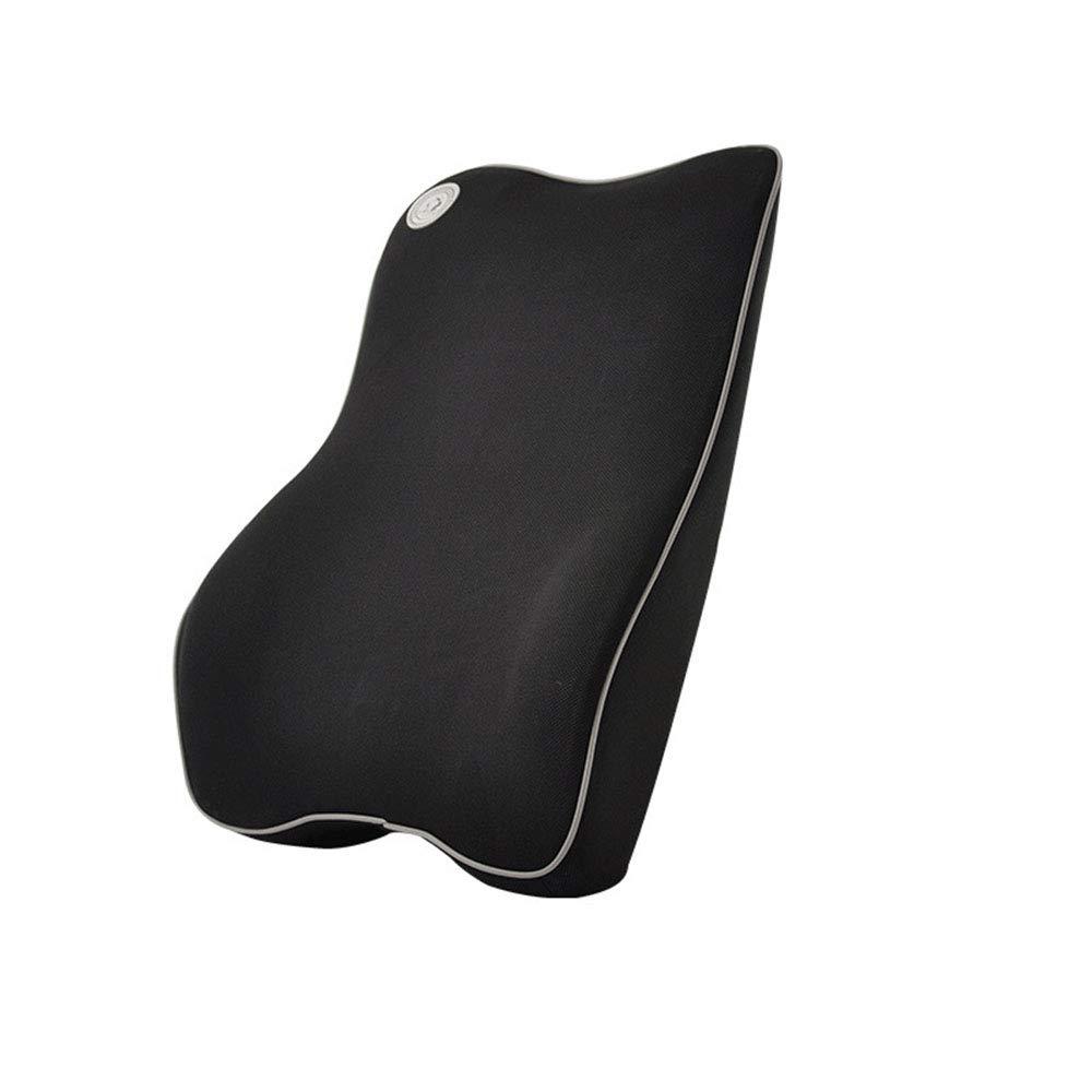 Ergonomically Design Universal Fit Major Car Seat Gray Ecloud Shop Lumbar Support Cushion for Car and Headrest Neck Pillow Kit