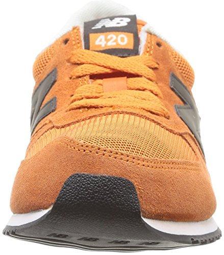 New Balance 420, Zapatillas Unisex Naranja (Snoo Grey/Naranja)