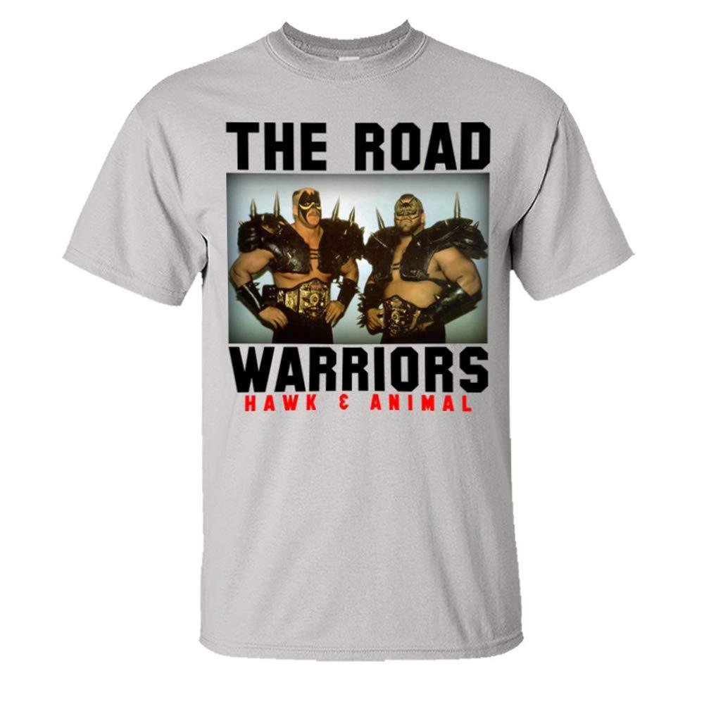 S Unisex Road Warriors Road Warriors Classic Hq Wrestling T Shirts