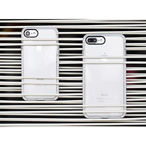 ROCK Military Guard S Series Drop Resistant TPU Mobile Tasche Hüllen Schutzhülle - Case für iPhone 7 4.7 - Weiß