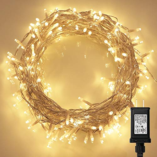 White Led Christmas Tree Lights With White Cord in US - 1