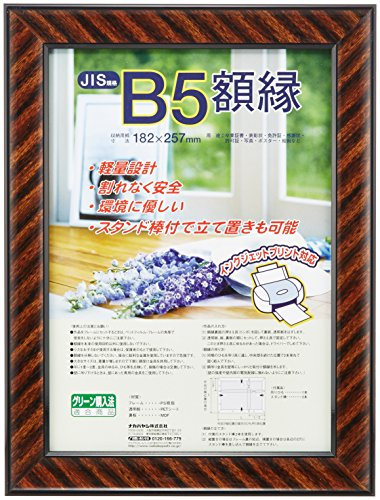 Nakabayashi diploma frame gold rack (plastic) JIS B5-size staff-KWP-11 / N (japan import)
