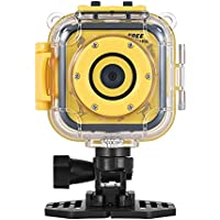 Andoer Children Kid Sports Action Camera Waterproof 720P Digital Video Camcorder 1.77inch LCD Screen Boy Girl Christmas Birthday Holiday Gift Toy