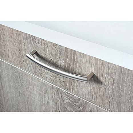 Küchenzeile »Porto«, inkl. Elektrogeräte, Breite 270 cm braun Made ...