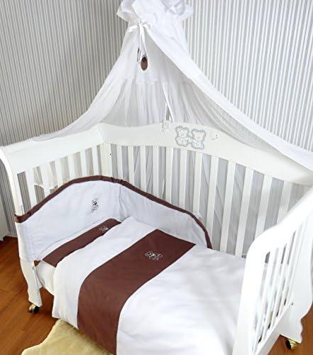 Babymajawelt/® Soporte universal para dosel de cuna Baby con fijaci/ón color blanco