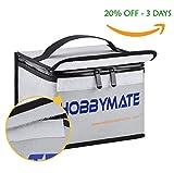#9: HOBBYMATE Lipo Battery Safe Bag Fireproof - for Lipo Battery Charging, Lipo Battery Storage