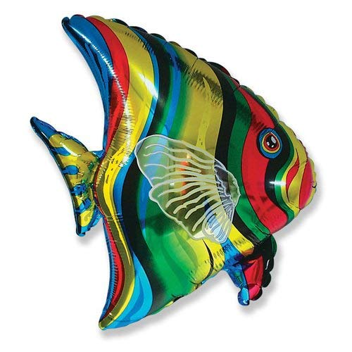 (LA Balloons Foil Balloon 901612 TROPICAL FISH 26