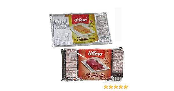 Amazon.com : 2 PACK DULCE DE BATATA DULCE MEMBRILLO SPREAD SWEET POTATO JAM QUINCE JELLY 850G : Grocery & Gourmet Food