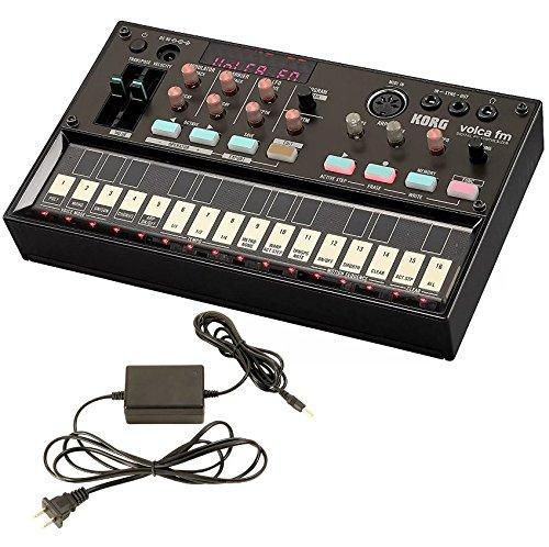 Korg Volca FM Digital FM Synthesizer and Korg 9V600MACPP 9v 600ma Power Supply by Korg