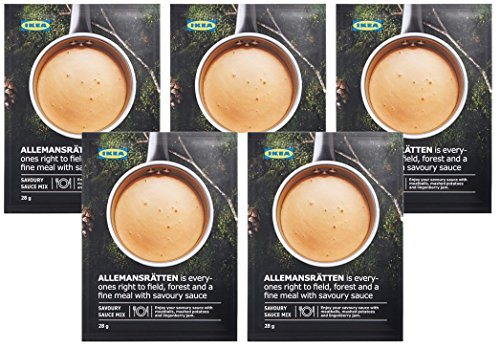 (IKEA ALLEMANSRÄTTEN Mix for cream sauce (Pack of 5))