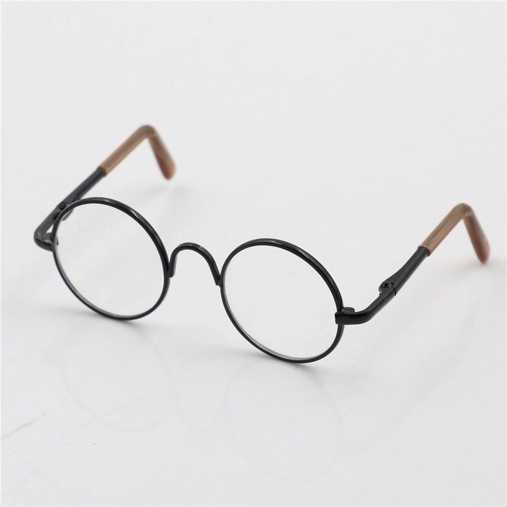 23d8511607 Amazon.com  Cute Round Frame Eyeglasses Clear Lens Eyewear for 12