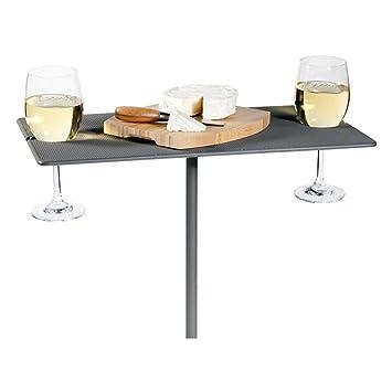 Amazoncom Oenophilia Picnic Wine Table Outdoor Wine Glass Holder