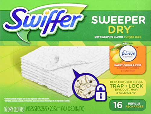 Swiffer Sweeper Dry Sweeping Pad Multi-Surface Refills for D