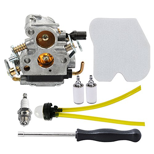 Panari 545072601 Carburetor + Adjustment Tool Air Filter for Husqvarna 235 235E 236 236E 240 240E Chainsaw Jonsered CS2234 CS2238 CS2234S CS2238S by Panari