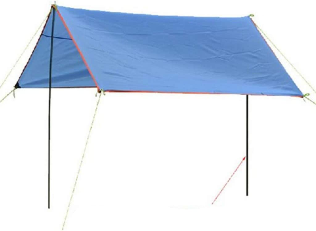 Section Tarp Shelter Canopy Tent Awning Support Rod Porch Iron Pole