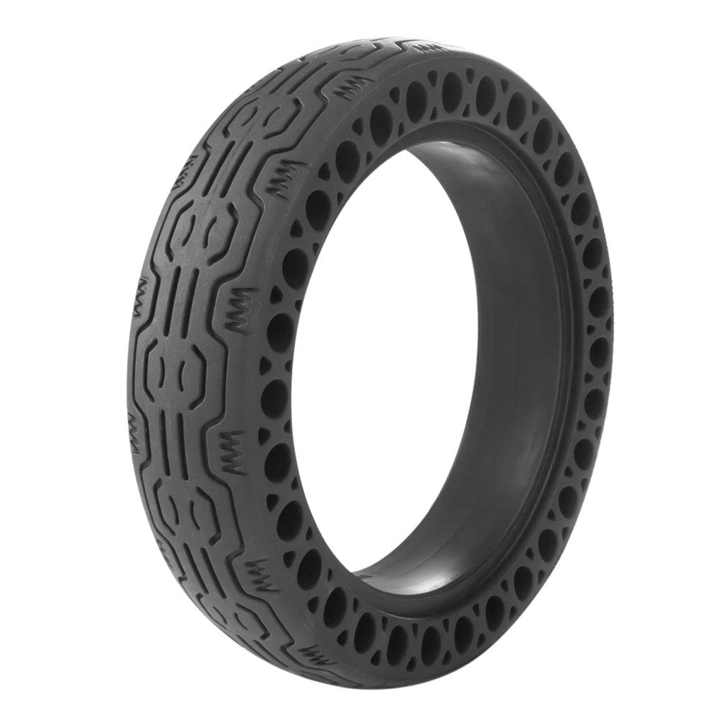 AOWISH Solid Tires 8.5 Inches Electric Scooter Wheels Replacement Tire 8-1/2'' Front or Rear Honeycomb Tires for Xiaomi Mijia M365, Gotrax GXL V2 and More (1 Piece) (Black) by AOWISH