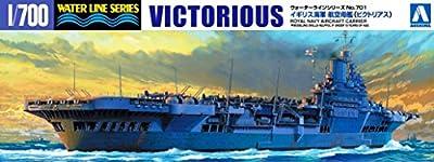 Aoshima 1/700 Water Line No.701 Royal Navy Aircraft Carrier Victoria