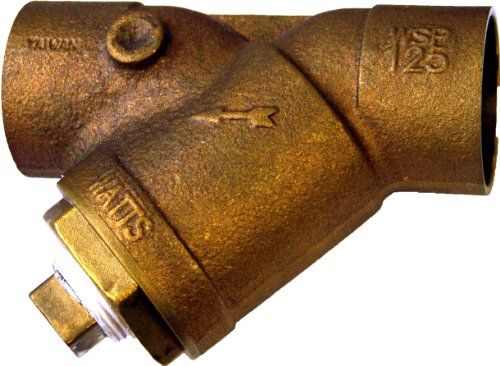 Cast Bronze Wye Strainer (Plumber's Choice 10514 Bronze Wye Strainer with Sweat Ends, 3/4-Inch C)