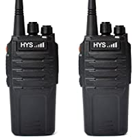 Walkie Talkie 10W 70CM HYS TC-P10W UHF 400-480 MHz 16CH Scrambler 2 Way Radio Handheld Transceiver with 2200Mah Li-ION Battery Ham Amateur Radio communicador(2Packs)