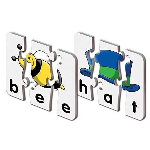 515OXb1vv7L - The Learning Journey: Match It! - 3 Letter Words - 20 Self-Correcting Reading & Spelling Puzzles with Matching Images