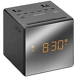Sony AM/FM Dual-Alarm Clock Radio (ICF-C1T) Black