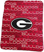 Logo Brands Officially Licensed NCAA Unisex Classic Fleece Blanket, One Size, Team Color