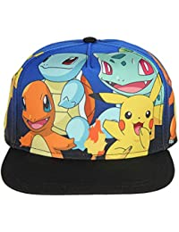 Pokemon Youth Group Gradient Sublimation Snapback Flatbill Hat