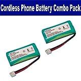 RCA VISYS 25212 Cordless Phone Combo-Pack includes: 2 x BATT-6010 Batteries